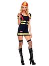 BuySeasons 70482ML Sexy Fire Hazard Honey Costume