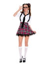 BuySeasons 286346 Sexy High Class Nerdy Costume (M/L)