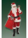 BuySeasons 2372NS Adult Men's Velour Santa Suit Costume