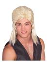BuySeasons 51165NS Blonde Mullet Wig