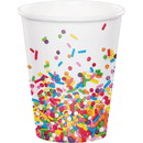 Creative Converting 300971 Sprinkles Hot/Cold 9oz Cup 8ct