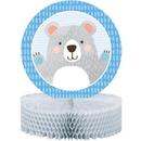 1st Birthday Bear Honeycomb Centerpiece 1ct