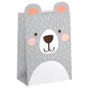 1st Birthday Bear Treat Bag 8ct