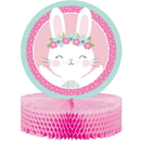 1st Birthday Bunny Honeycomb Centerpiece 1ct