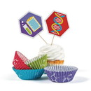 Fun Express 301238 Science Party Cupcake Wrappers (50 sets)