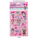 Almar Sales 301509 LOL Surprise Stickers (12 Sheets)