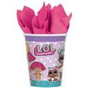 Amscan 301532 LOL Surprise 9oz Paper Cups (8)