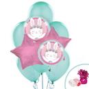 1st Birthday Bunny Balloon Bouquet