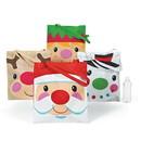 Fun Express 305790 Cheery Christmas Tote Bags