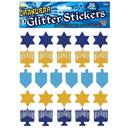 Forum Novelties 306072 Hanukkah Glitter Stickers (26)