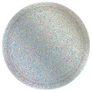 Amscan 306656 Prismatic Gold Silver Plates (8)