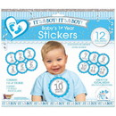 Forum Novelties 306809 It's A Boy Baby's 1st Year Stickers