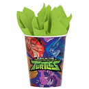 Amscan 307534 Rise of the TMNT 9oz Paper Cups (8)