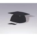 Forum Novelties 308777 Black Graduation Cap