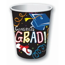Forum Novelties 308811 Graduation 9oz Paper Cups (8)