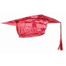 Forum Novelties BB80096 Red Graduation Adult Cap - One-Size
