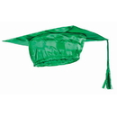 Forum Novelties BB80098 Green Graduation Adult Cap - One-Size