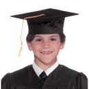 Forum Novelties 308863 Black Graduation Child Cap