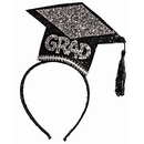 Forum Novelties BB80325 Glitter Grad Hat Headband