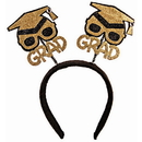 Forum Novelties BB80326 Glitter Grad Hat Bopper Headband