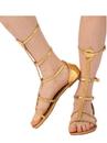 Rubies R200196 Adult Cleopatra Sandal Tall