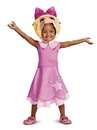 Disguise DI79446 Muppet Baby: Miss Piggy Classic Toddler Costume(12