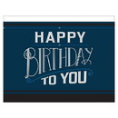 Amscan PY164032 Happy Birthday Man Paper Table Cover