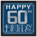 Amscan PY164036 Happy 60th Birthday Man Beverage Napkins (16)