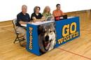 Bison Sport Pride Graphic Scorers Table