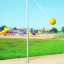 Bison TB100P In-Ground Tetherball Pole and Ground Sleeve