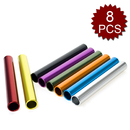 GOGO Wholesale Track & Field Races Relay Batons Assorted Color 8 Pcs/Box