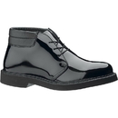 Bates E00053 Men's Bates Lites High Gloss Padded Collar Chukka, Black