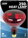 Feit Electric 250R40/10 250W Red Heat Lamp