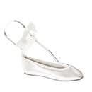 Touch Ups by Benjamin Walk Children's Gypsy Shoes Satin White