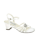 Touch Ups by Benjamin Walk Children's Betsy Shoes Satin White