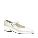 Touch Ups by Benjamin Walk Children's Sabrina Shoes Satin White