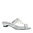 Touch Ups by Benjamin Walk Women's Marcella Shoes Synthetic Silver