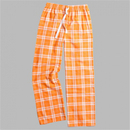 Boxercraft F20OWP Orange And White Flannel Pant