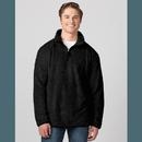 Boxercraft FZ02 Men'S Fuzzy Fleece Quarter Zip Pullover