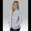Boxercraft Q12 Ladies Frosty Grey Full Zip Sherpa