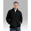 Boxercraft Q13 Black Full Zip Sherpa