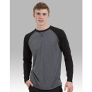 Boxercraft T06 Men'S And Granite Long Sleeve Double Play Tee