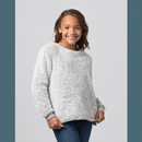 Boxercraft YFZ03 Girls Fuzzy Fleece Crew
