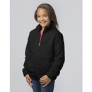 Boxercraft YQ12 Girls Full Zip Sherpa Jacket
