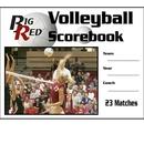 Blazer 5020 Volleyball Scorebook 23 Games