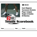 Blazer 5130 Tennis Scorebook 24 Matches