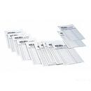 Blazer 5230 Multi-Sport Line-Up Cards/1Dz Poly Bagged