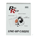 Blazer 5280 18 Player Line Up Book