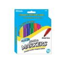 Bazic Products 1223 10 Classic Colors Broad Line Jumbo Washable Markers