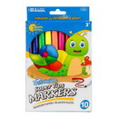 Bazic Products 1224 10 Color Super Tip Washable Markers